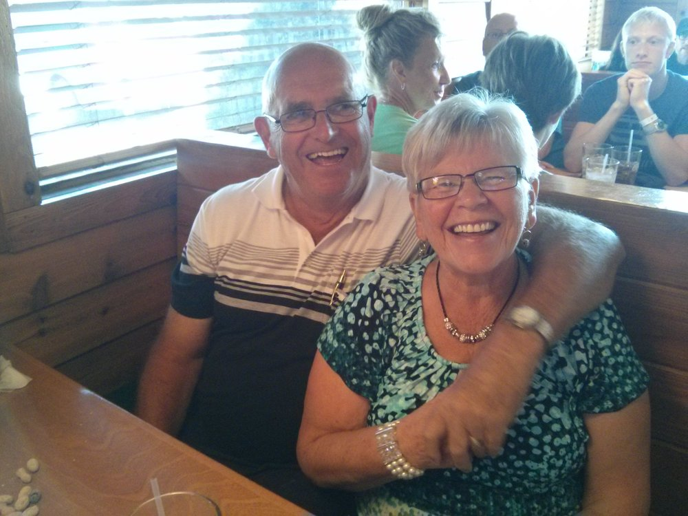 These two celebrating 50 years of marriage!