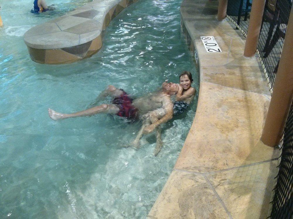 Fun at the waterpark