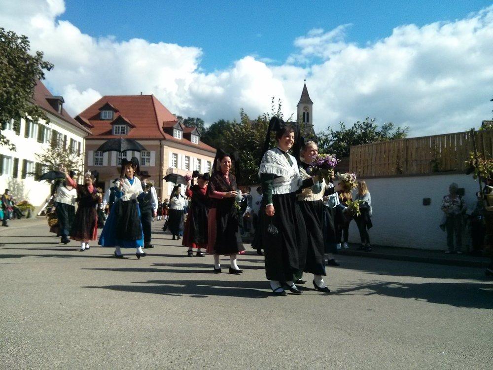 Auggen Winzerfest parade