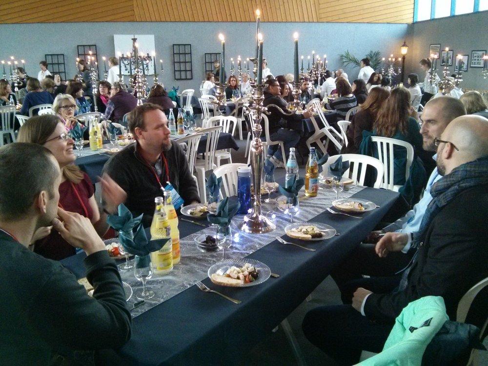ICEC attendee banquet