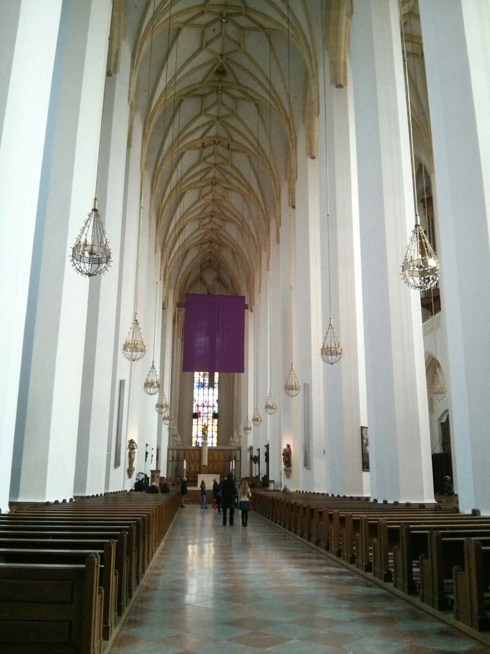 Inside the Frauenkirche