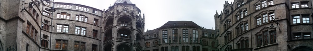 Marienplatz area