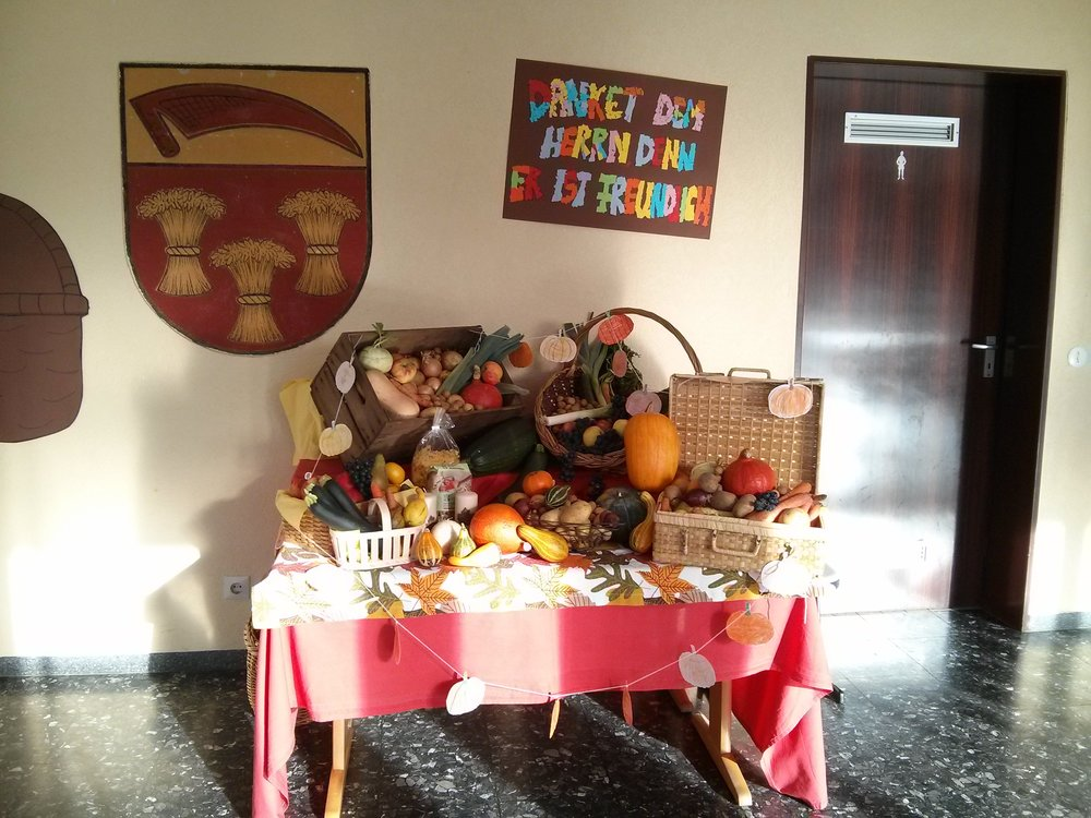 Thanksgiving display at CSK