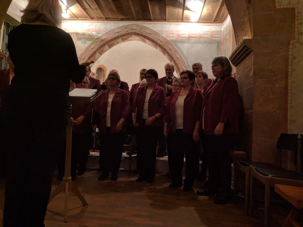 Singing with the Riedlingen Choir