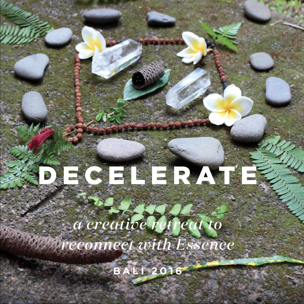 Decelerate mandala art