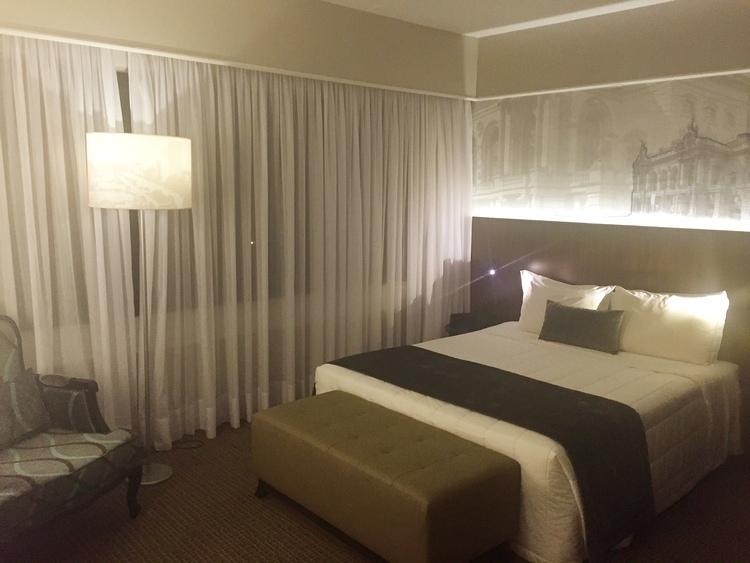 Quarto do Hotel Blue Tree Premium Paulista