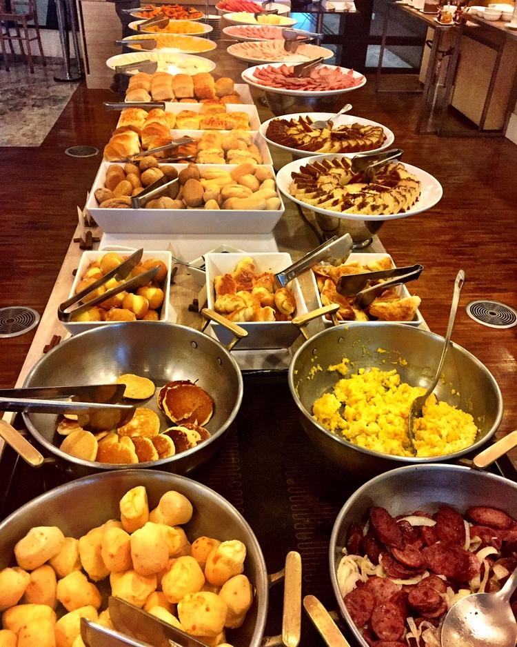 Huuum... Delícia de café da manhã!
