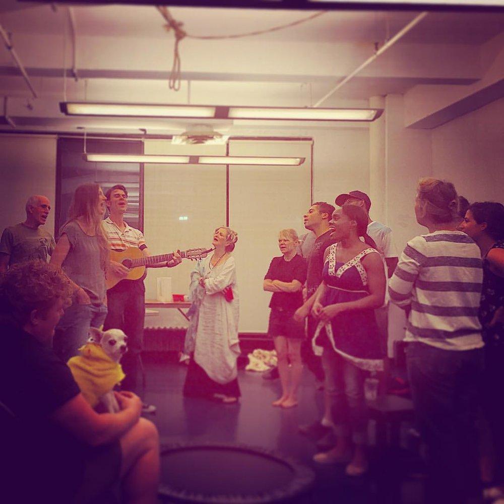 Choral rehearsal!