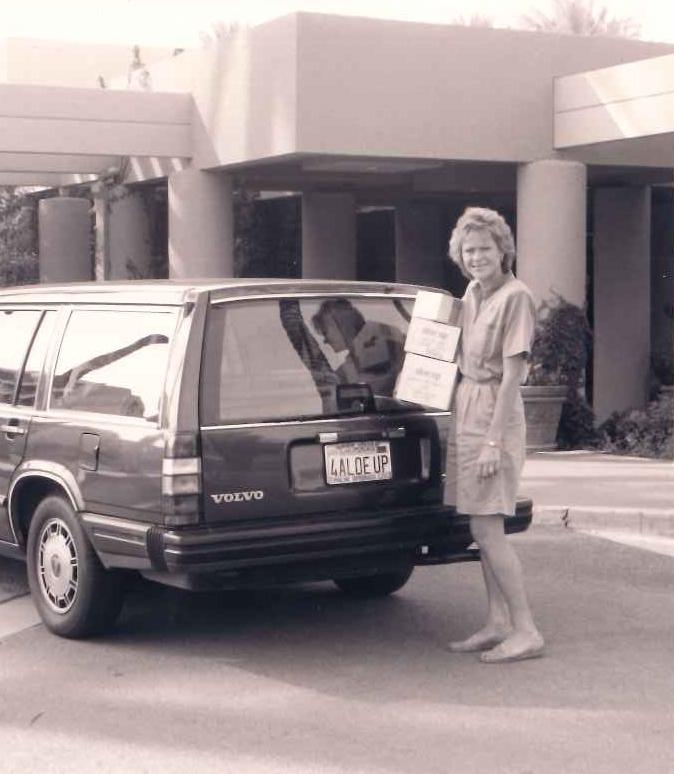 Robin Lopez- 1st Aloe Up Distributor (Palm Springs CA, 1986)