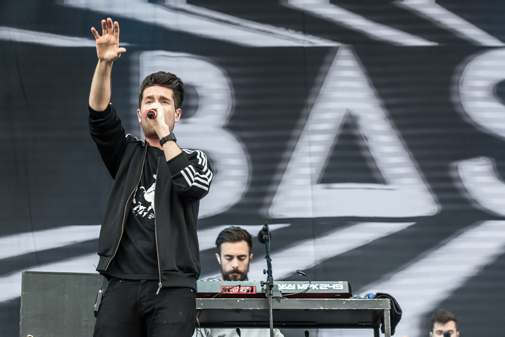 Bastille - Bastille were among the most talked about and highly anticipated acts of the festival - they seemed to live up to the hype, putting on a really good live show while engaging their loyal fanbase. We were most impressed with their use of samples which kept the set flowing nicely.
