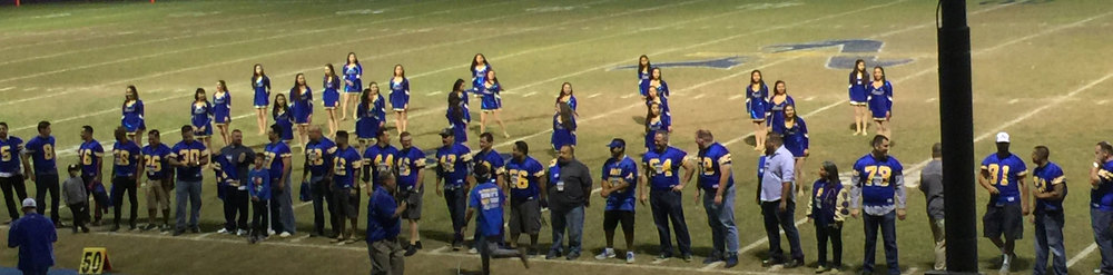 The Bishop Amat 1995 CIF Football Championship team.
