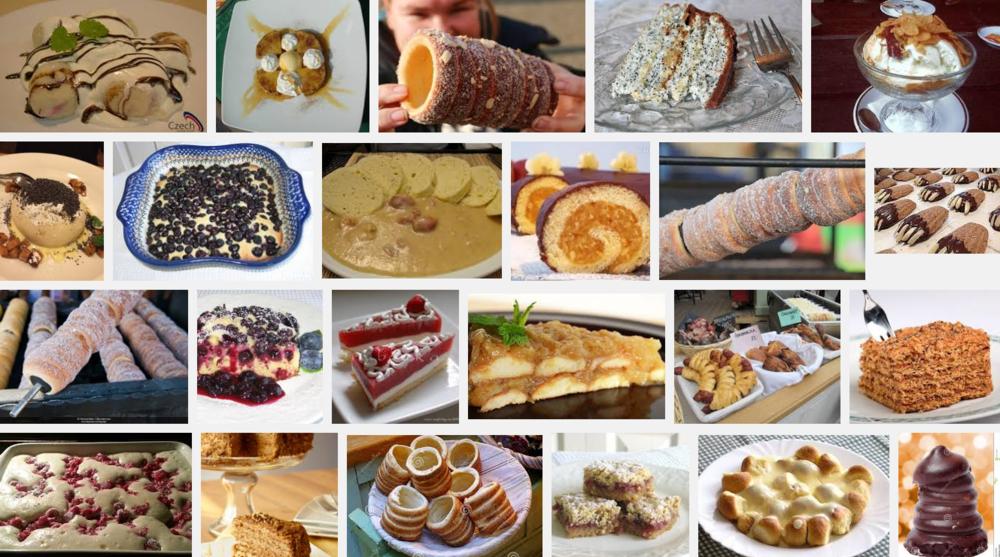 Czech desserts