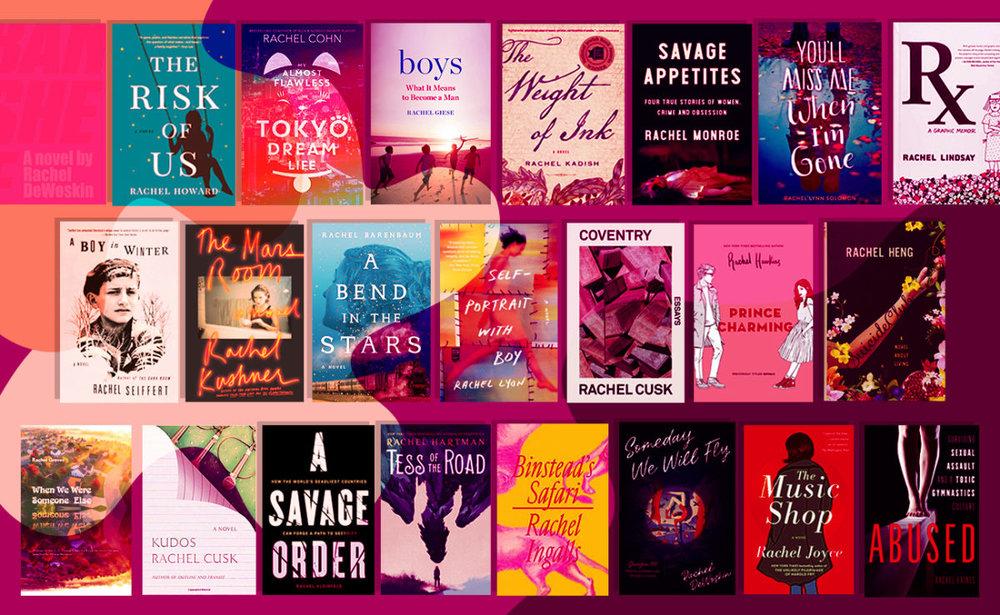 KVELLER - THE BEST NEW BOOKS BY WRITERS NAMED RACHEL