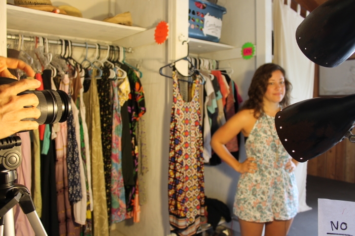"in the KALANI ""Free Boutique,"" ALI's passion project during HER first year at Kalani. SHE transformed a messy corner of people's discarded things into a thrift shop located in the main common area where volunteers and staff coULD ""Shop"" for free boutique items."