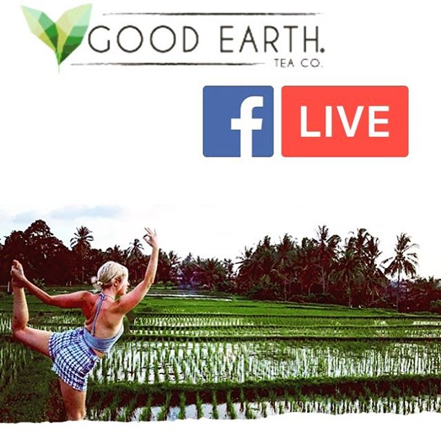 Join me and @goodearthtea as we celebrate #nationalrelaxationday with 3 Facebook live events to help you de-stress and have fun! ----------------------------------- 🙏9AM PST #sufi #whirling #meditation (be careful, but I'll teach you how to spin safely!) 🌈 5PM PST Take a work break with us for #QandA and coloring #mandalas ☕️ 8PM PST Join is for the Sweet & Spicy Good Night Tea Party ---------------------------------- Send me some love and comments on their Facebook and maybe they'll send you some tea to enjoy. Link in my profile!