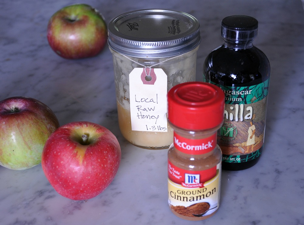 ingredients_for_apple_sauce