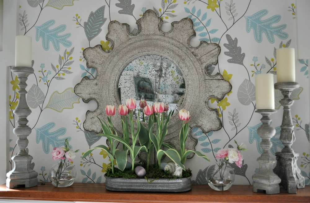 spring_flowers_and_candlesticks_on_mantel