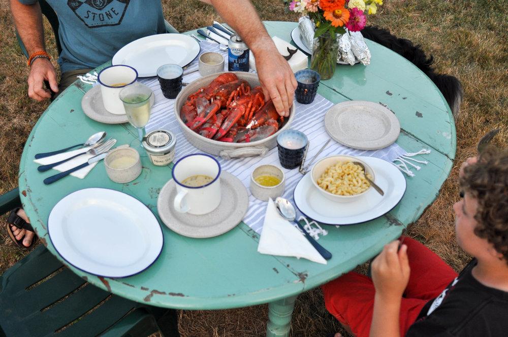 Lobster-picnic