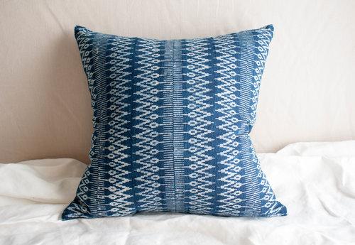 Famous Zig Zag Cotton Batik Pillow — Teaselwood Design CY55