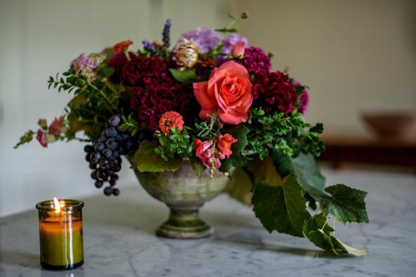 Flowers Apples-Flowers
