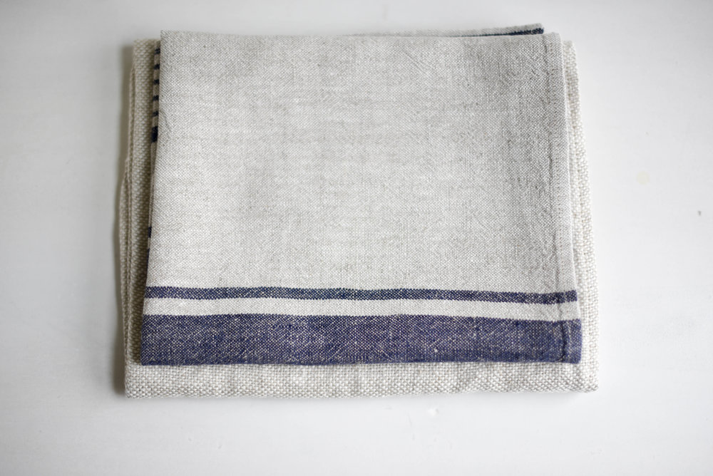 Provence Linen Tea Towels
