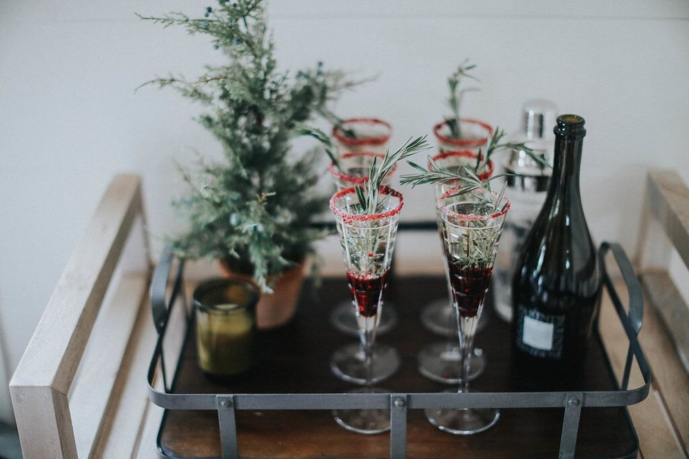 Scandanavian-holiday-champagne-drink