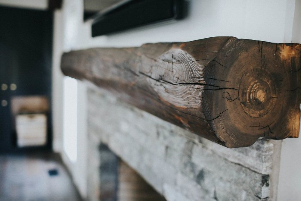 wood Rustic beam