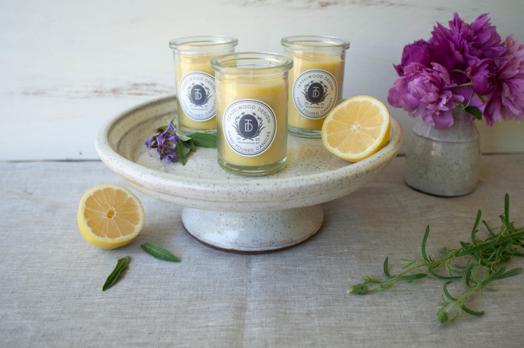 Teaselwood Hand Poured Beeswax Candles