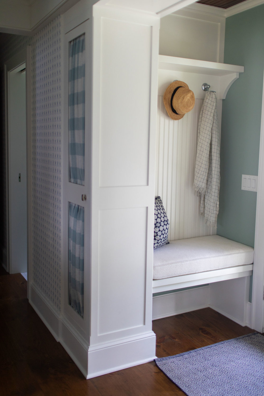 Built in storage ideas by Teaselwood Design, Skaneateles New York interior designer