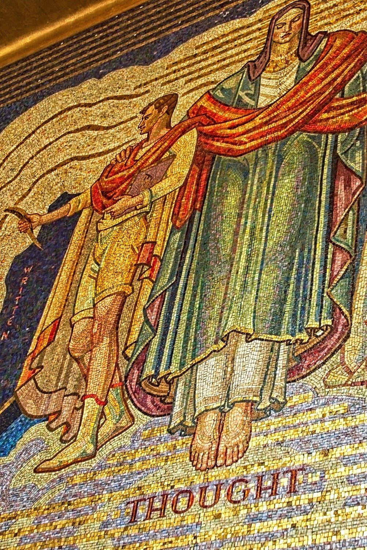 Elaborate Mosaic Tiling