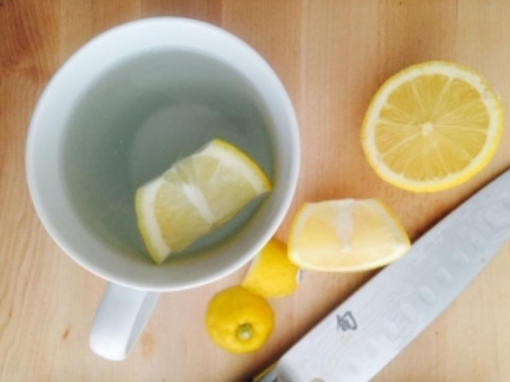 Hot Water &Lemon.