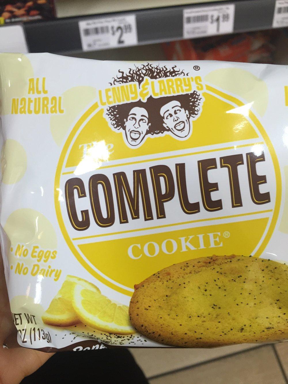 Lenny & Larry's Vegan Cookie. The winner!