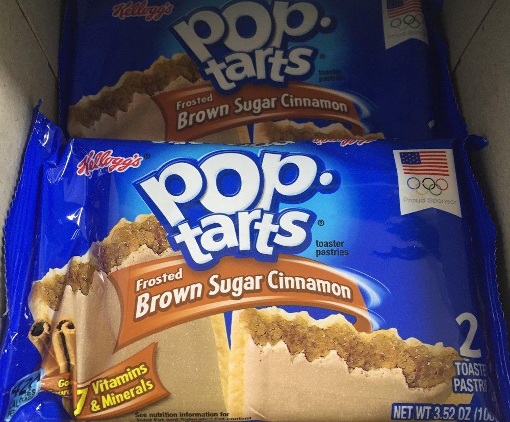Kellog's Pop Tarts: High sugar, high carb,
