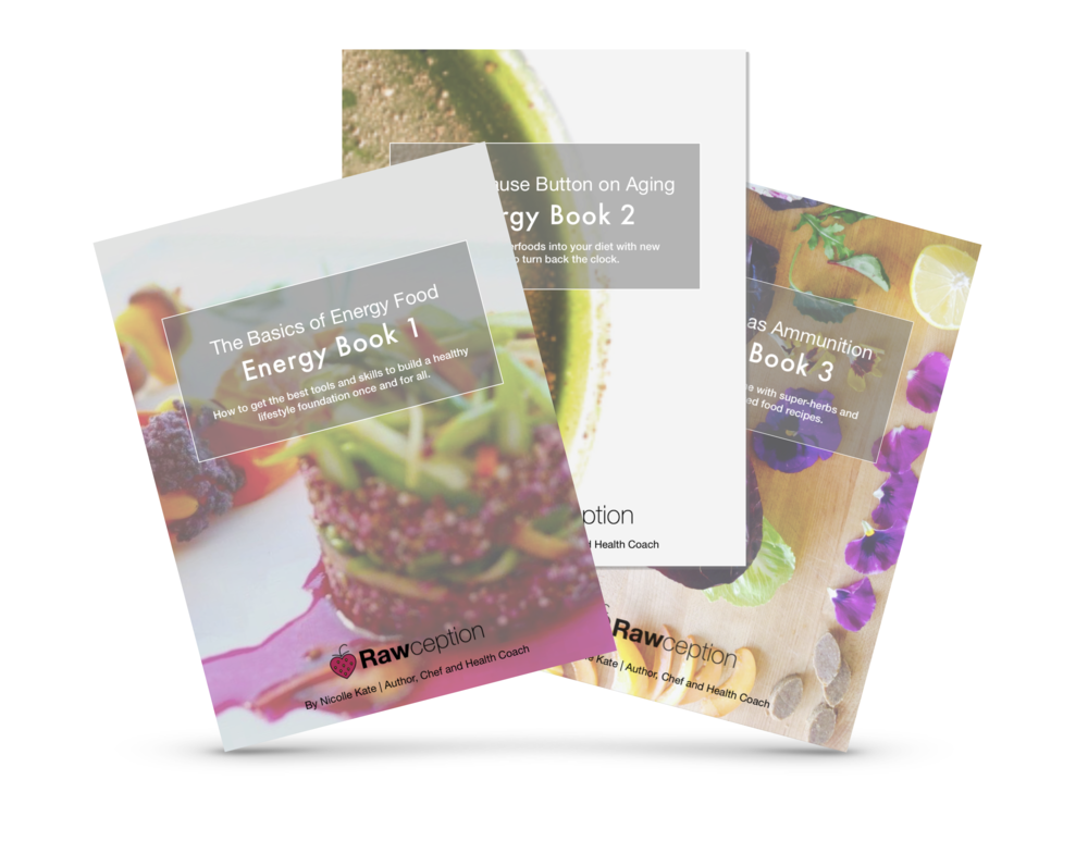 The Rawception Energy Food E-Books Series