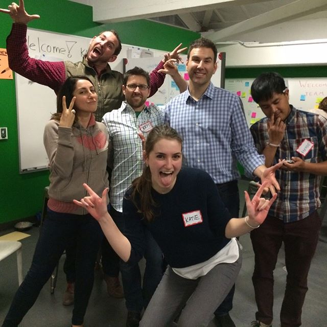 Throwback to the time when the Learning Environments leadership team attended a @stanforddschool Design Thinking workshop. We are deeply inspired and influenced by Design Thinking and are proud of our partnership with the d.school.  #createinspiretransform #oneworkplace #OWP #OWPIGtakeover #owplearn #designthinking #howmightwe #stanfordd.school #hassoplattner #stanford #dschool