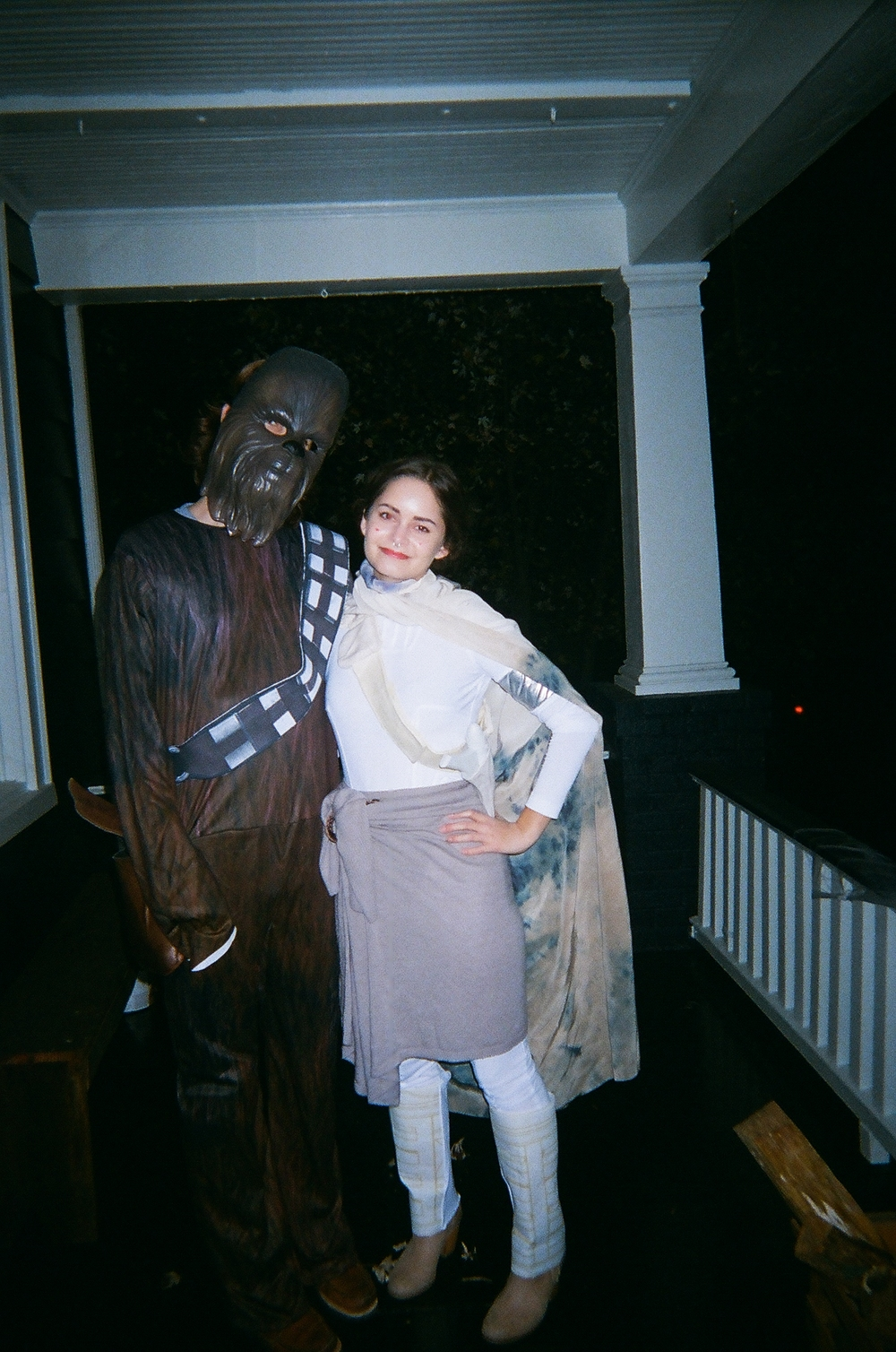Halloween!!! My Chew-boo and myself as Padme Amidala. I'm into everything including fantasy and video games. Thanks, Dad!