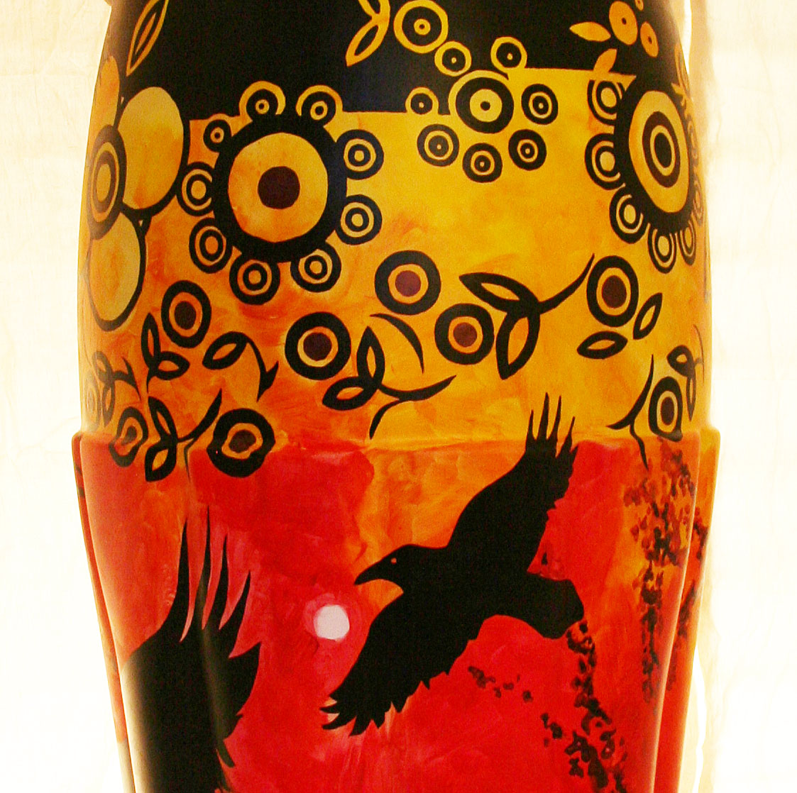Detail coke bottle design by Kim Stewart