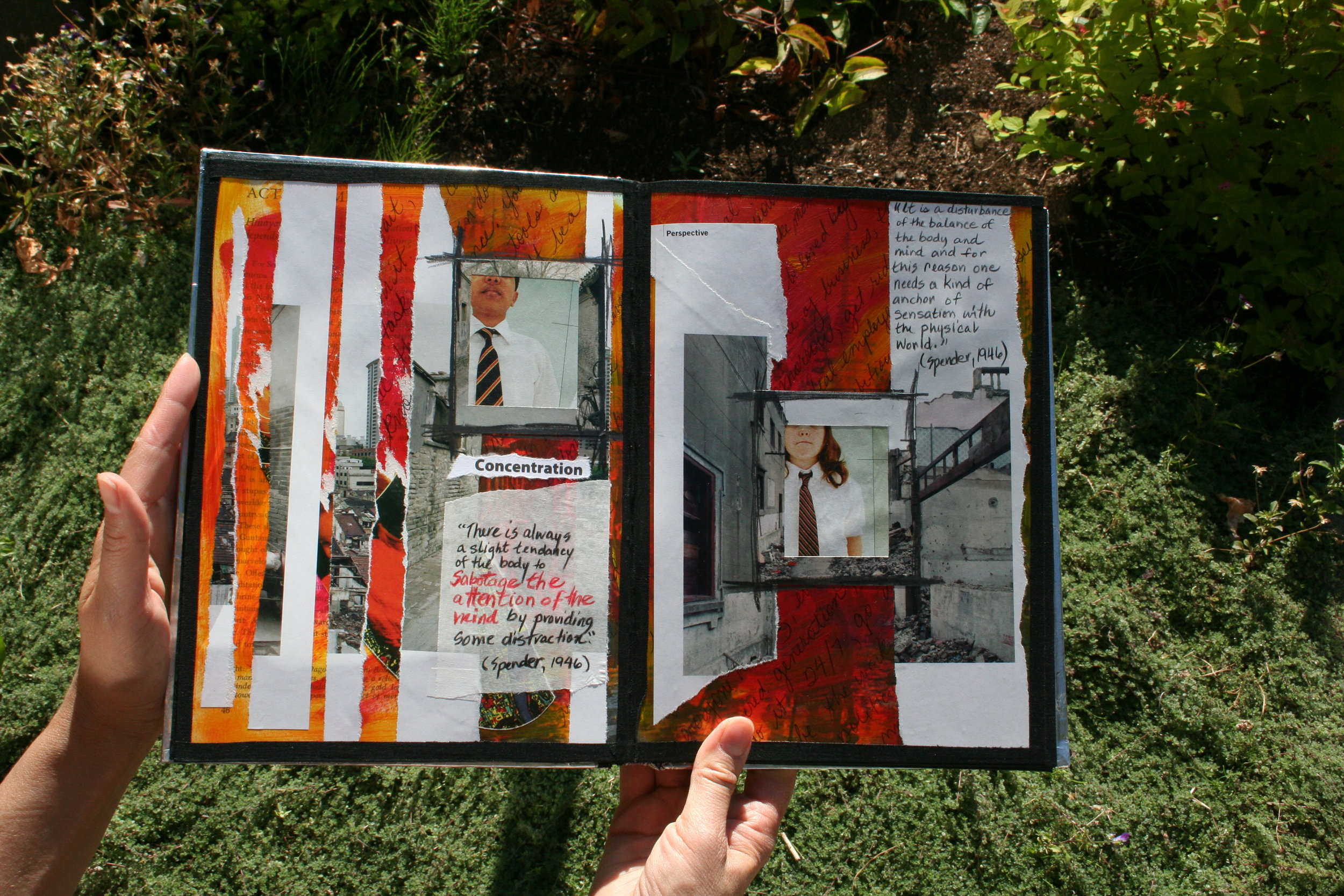 altered book - 21st Century Child