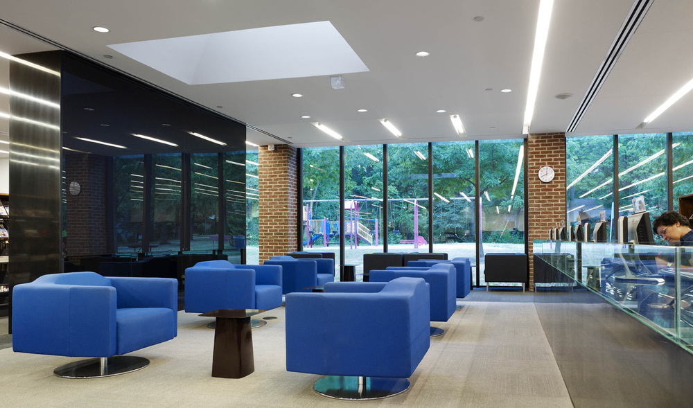 MPL Lorne Park Library Interior 01
