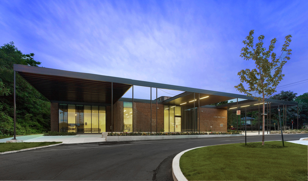 Lorne park library mpl03 rdha for Architecture firms mississauga