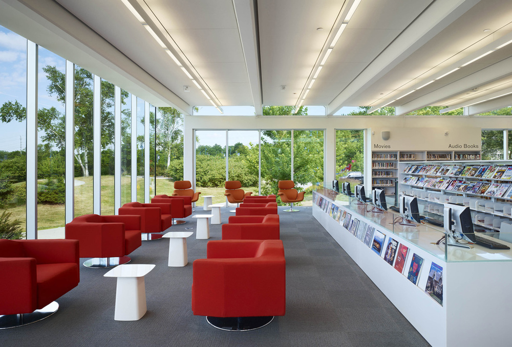 MPL Port Credit Library Interior 02