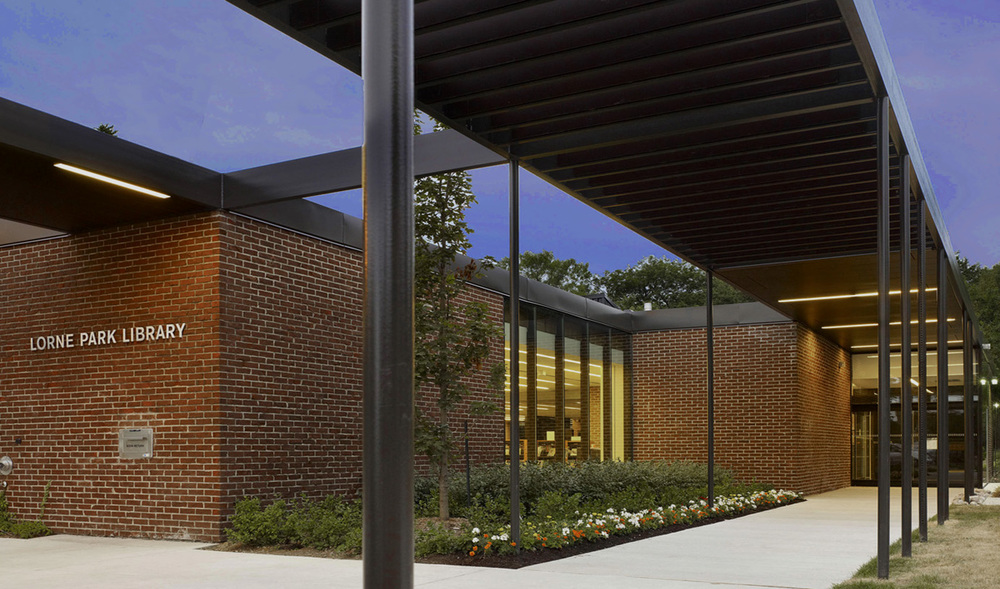 MPL Lorne Park Library Exterior 03