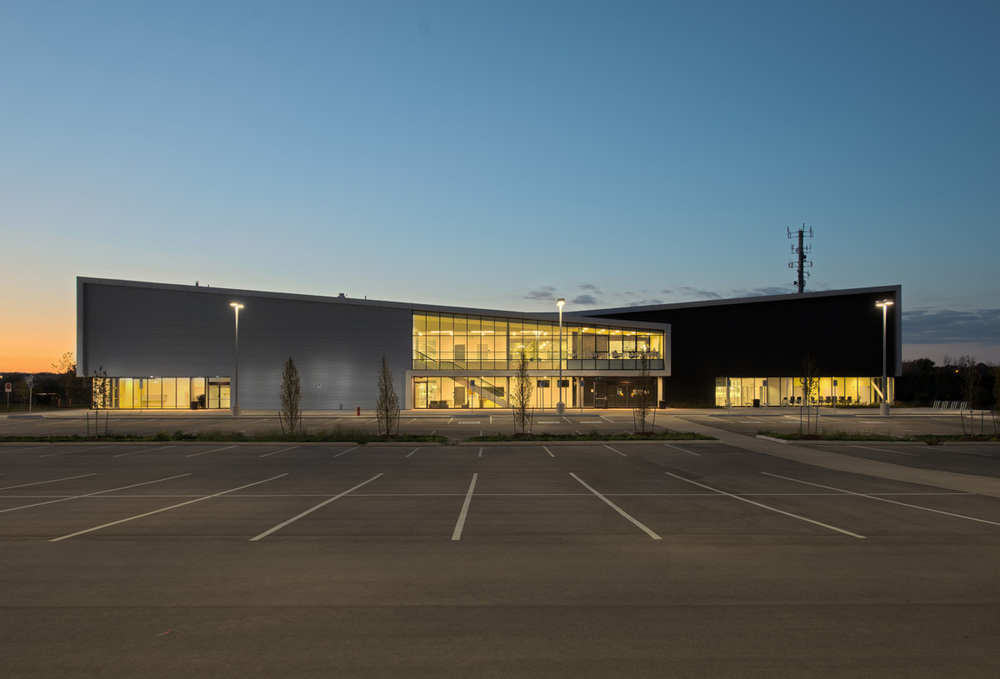 Harry Howel Community Arena Exterior 01