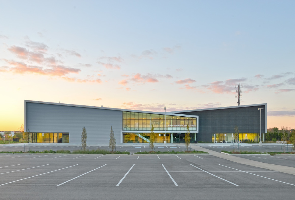 Harry Howel Community Arena Exterior 02