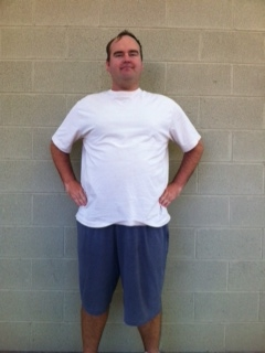 BEFORE PICTURE:   Bill came to me a year ago with an exercise routine that included occasional hiking.