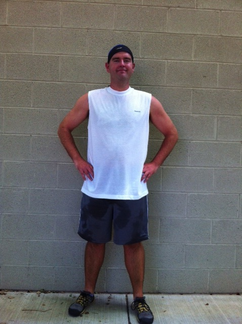 AFTER PICTURE: lost 30 lbs!!  A combination of a personalized training program, accountablity and support, Bill was able to lose the weight he'd been trying to lose for years!