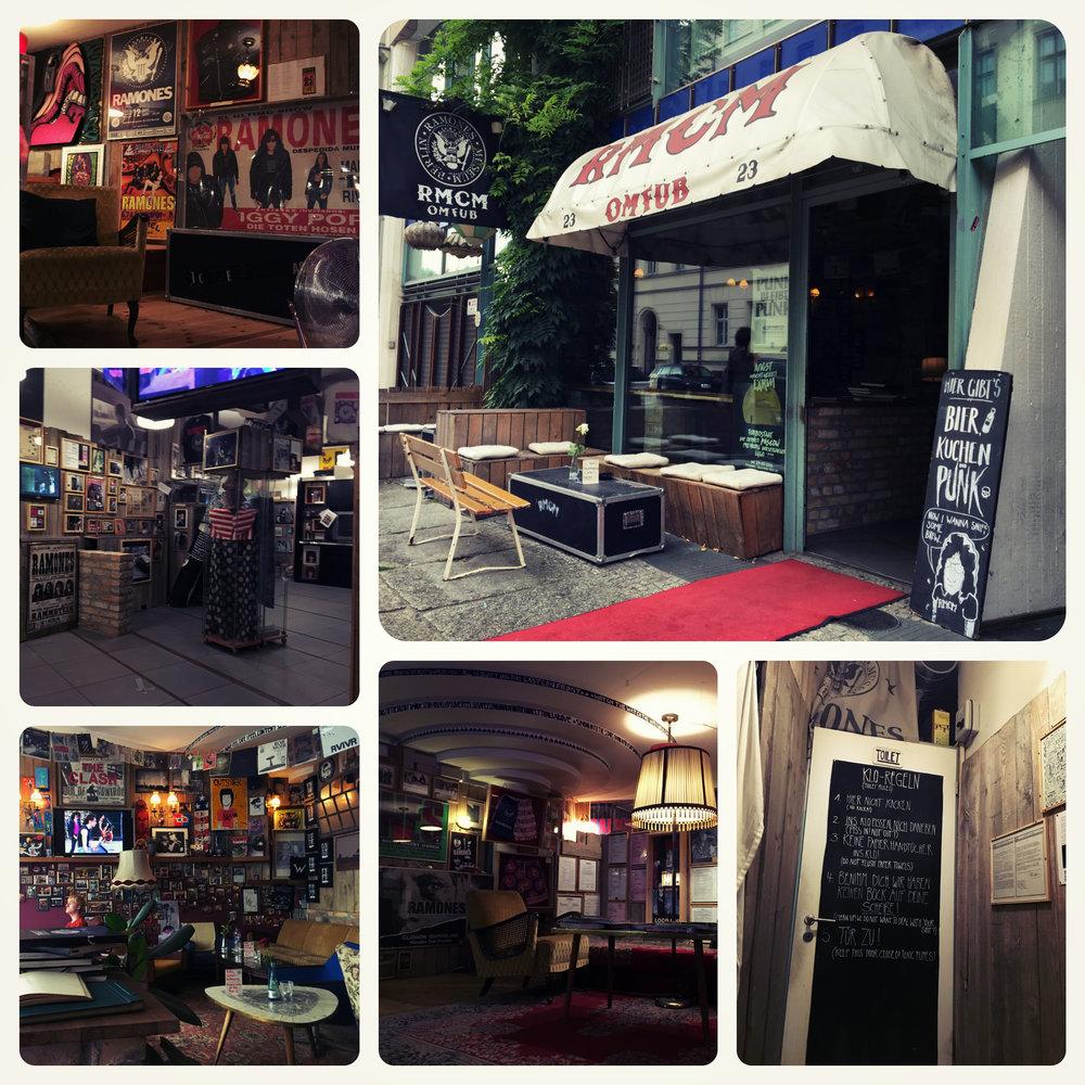 Main entrance, bar/lounge and interior.