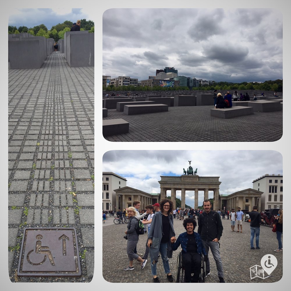 The Holocaust Memorial & The Brandenburg Gate