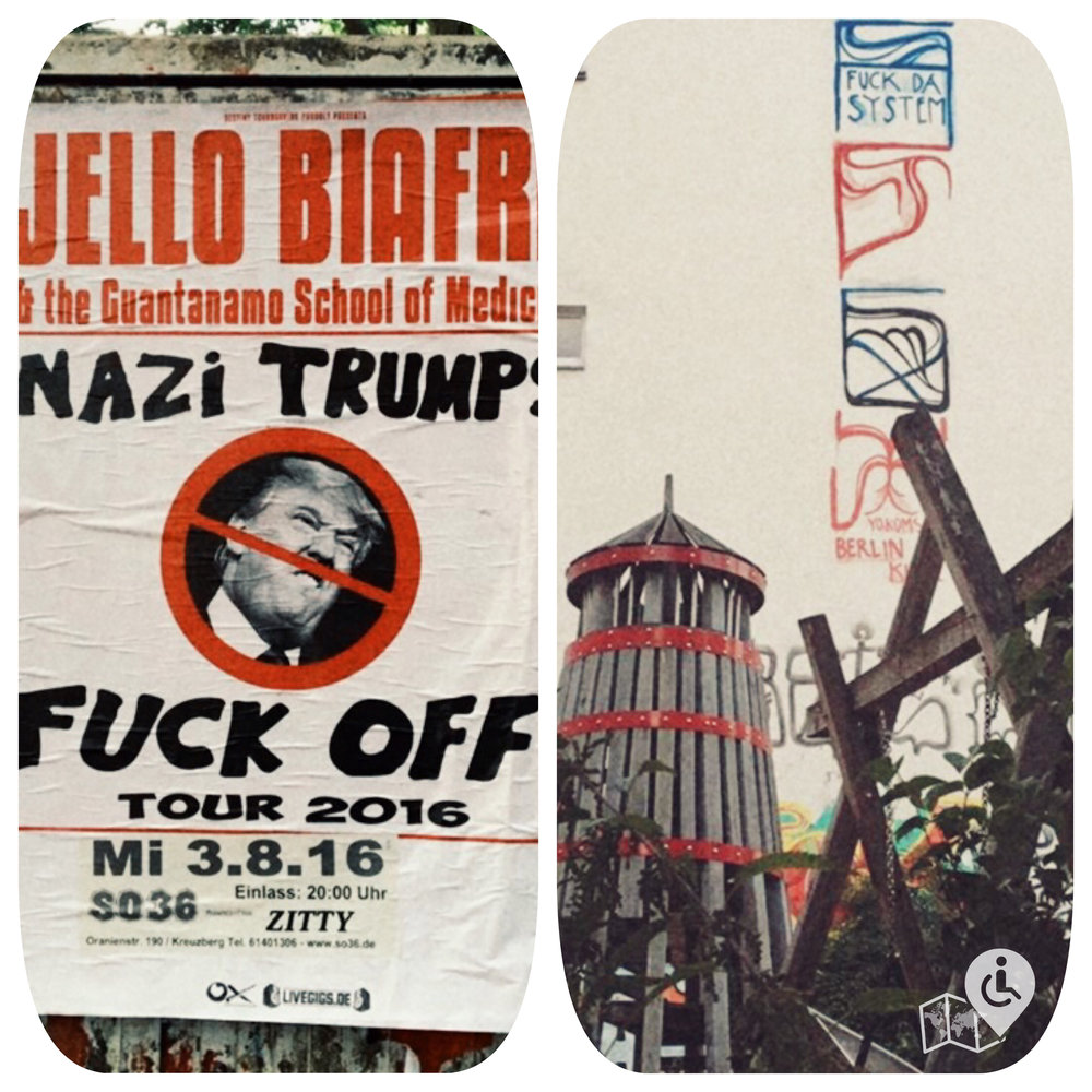 Kreuzberg's Fuck Trump, Fuck da System