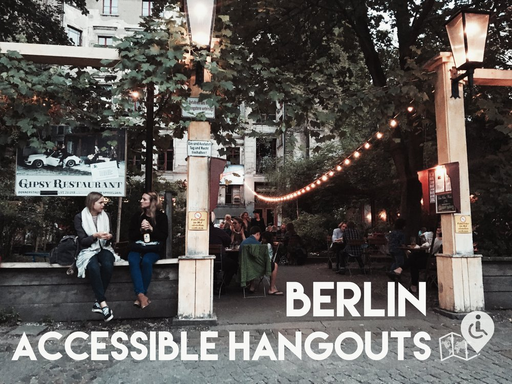 Clärchen Ballhaus entrance. Click in the picture to see all the wheelchair-friendly hangouts.